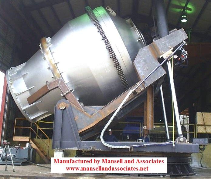 rotary furnace supermelt 360 swivel base w  tilting frame
